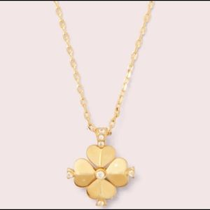 ⭐️Kate Spade Legacy Clover necklace☘️